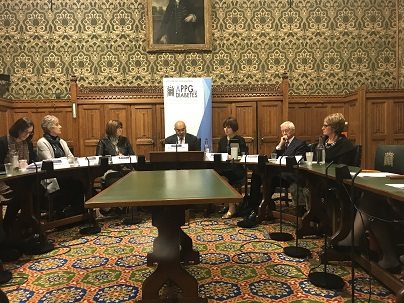 The APPG for Diabetes, 29 November, 2017